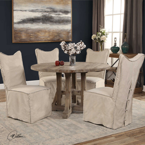 Abel Dining Table by Uttermost