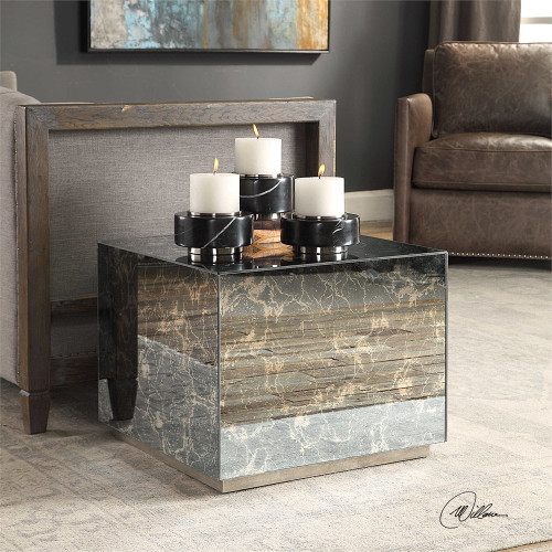 Odilia Cube Table - by Uttermost