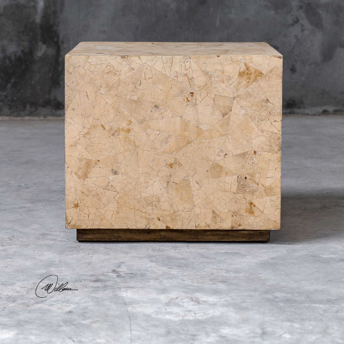 Keona Cube Table by Uttermost