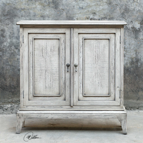Nyle 2 Door Cabinet by Uttermost