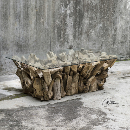 Teak Root Coffee Table by Uttermost