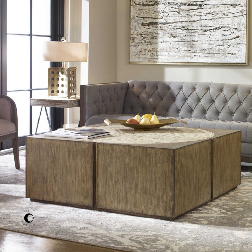 Brona Coffee Table by Uttermost