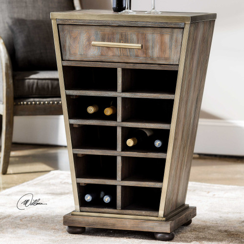 Yantra Wine Table by Uttermost