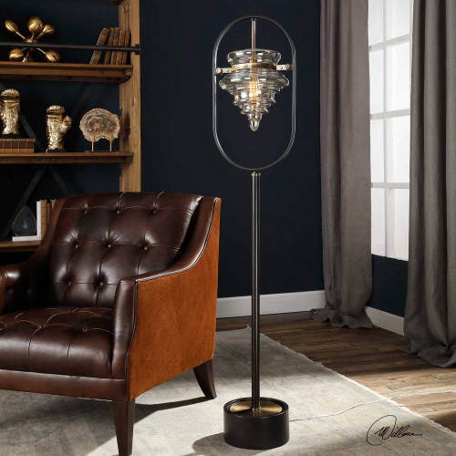 Boleto Floor Lamp by Uttermost