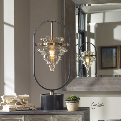 Boleto Accent Lamp by Uttermost