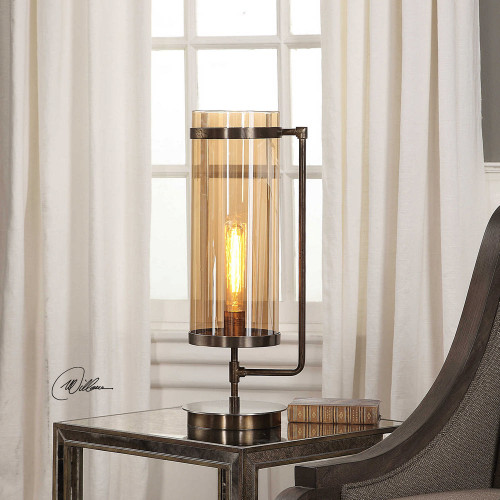 Adeon Accent Lamp by Uttermost