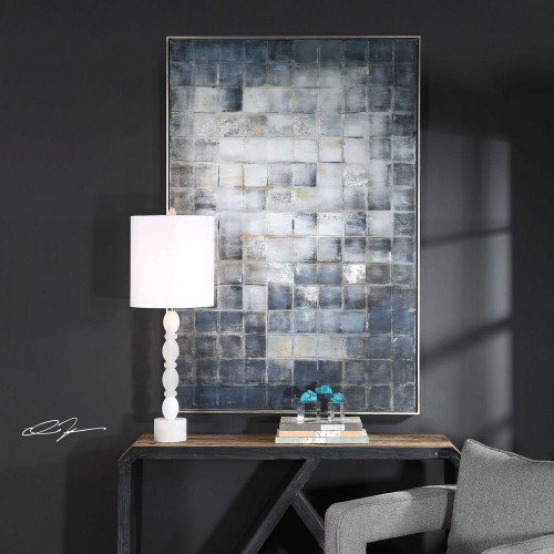 Graphs Hand Painted Canvas by Uttermost