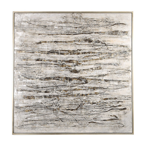 Scribbles Hand Painted Canvas by Uttermost