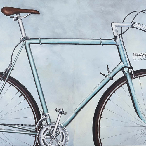 Retro Road Racing Bicycle Canvas Art (C917) - No Frame