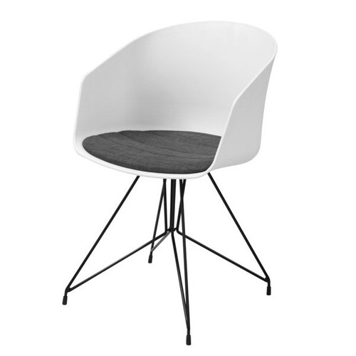 Emery Dining Chair White by Maison Living