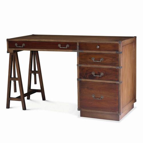 Surveyors Desk w/Filing Drawer - Size: 80H x 140W x 61D (cm)