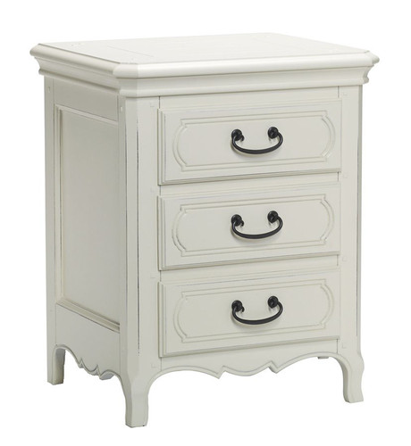 Bella House Chateau Bedside Cabinet - A/Cream