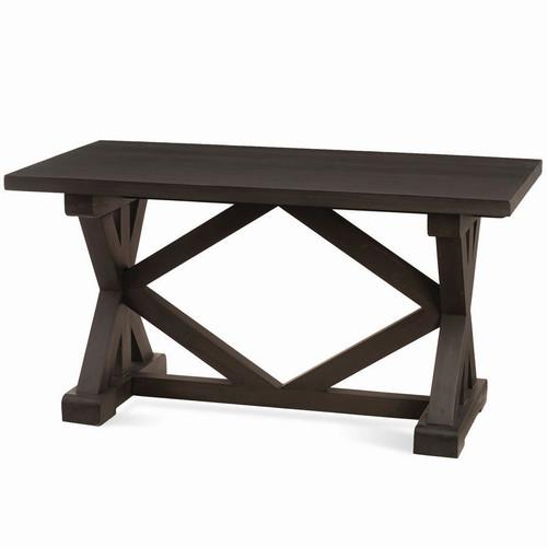 Hamptons Riverwalk X-Base Counter Table 160cm - Size: 84H x 160W x 79D (cm)