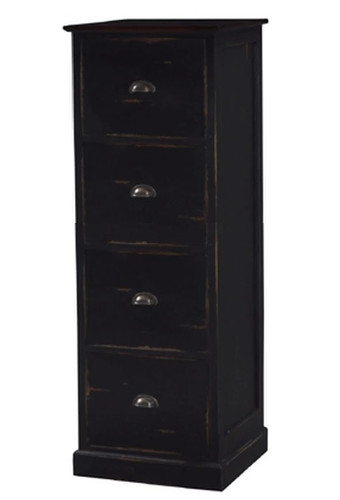 Filing Cabinet 4 Drawer - Size: 138H x 50W x 46D (cm)