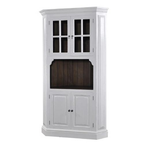 Cape Cod Corner Cabinet - Size: 213H x 120W x 55D (cm)