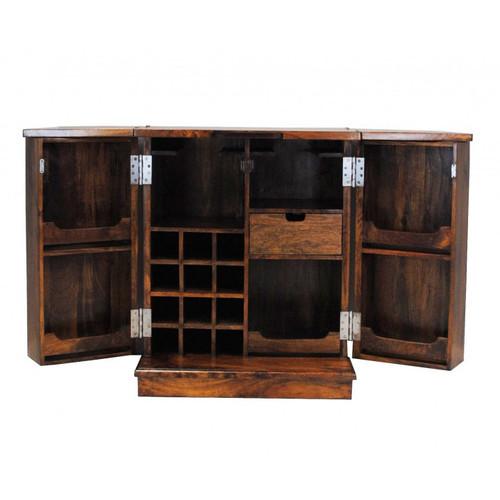 Manhattan Folding Wine Bar - Open