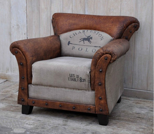 Charleston Polo Vintage Club Chair