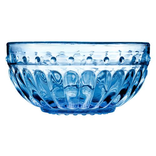 Roman Desert Bowl - Aqua - Set of 4