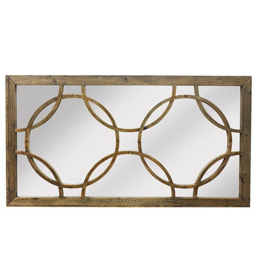 Deco Wall Mirror - Reclaimed Pine