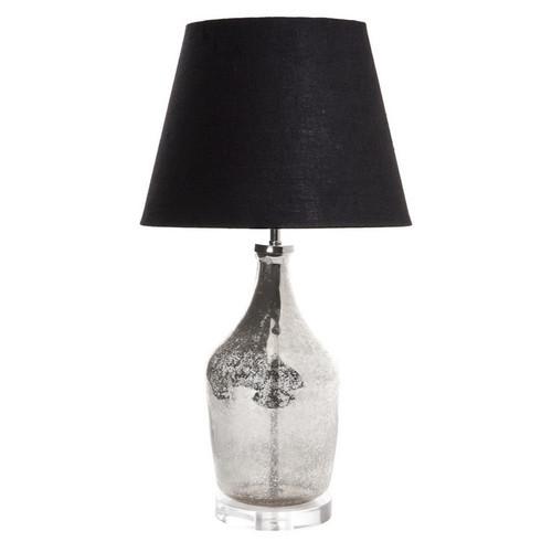 Small Fortuna Mercury Glass Table Lamp