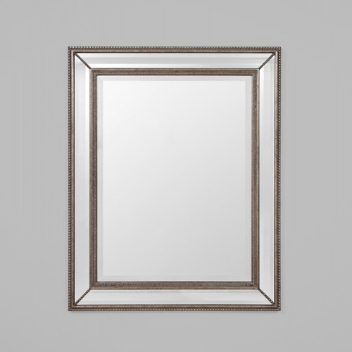 Vienna Antique Silver Mirror