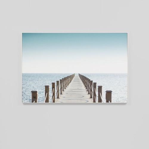 Canvas Print: Pier Walk