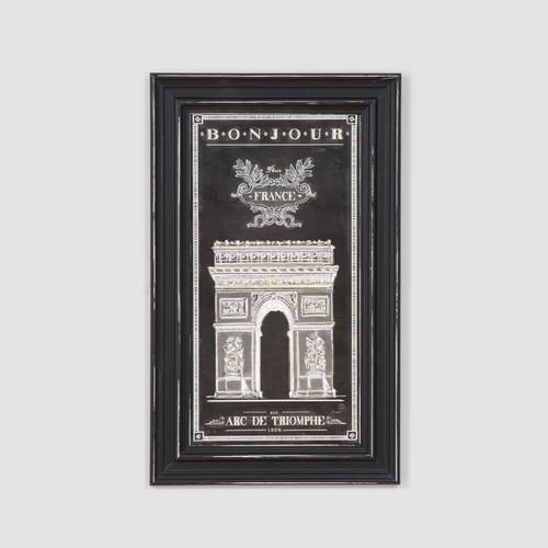 Framed Print: Bonjour France