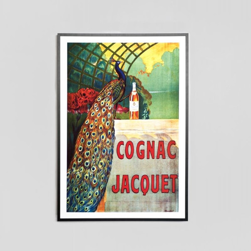 Framed Print: Cognac Jacquet