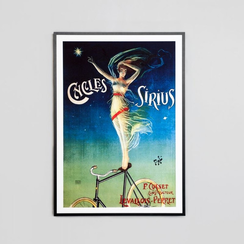 Framed Print: Cycles Sirius