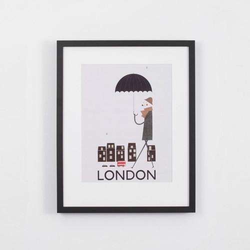 Framed Print: London
