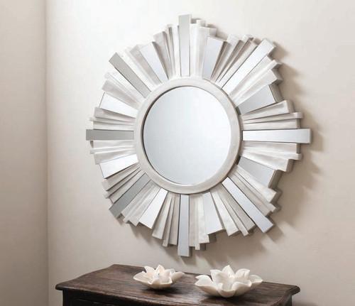 "Ondatta Mirror Silver 42"""" Gallery Direct"""""