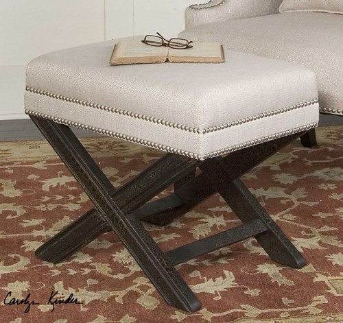Viera Small Bench by Uttermost