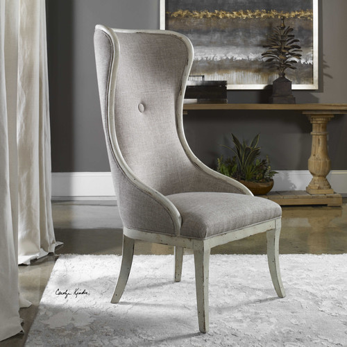 Selam Wing Chair by Uttermost