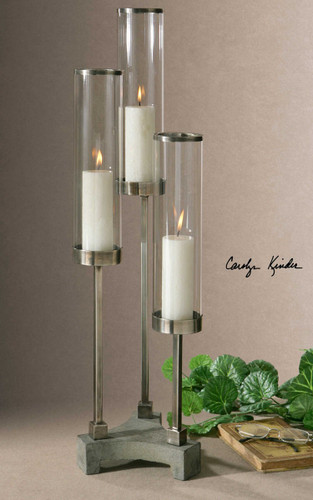 Risto Candleholder by Uttermost