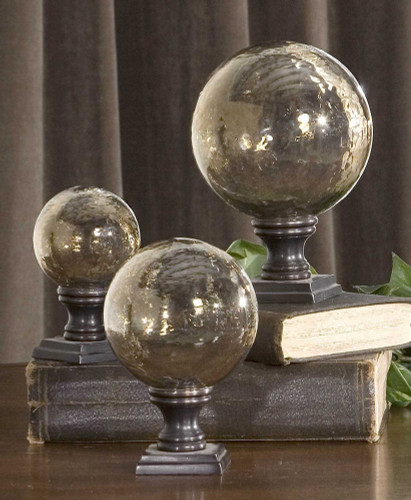 Lamya Finials S/3 by Uttermost