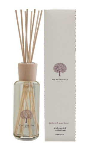 Royal Doulton Fable Mini Reed Diffuser 150mL - Gardenia & Lotus Flower