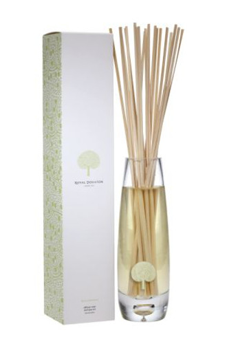 Royal Doulton Fable Reed Diffuser and Vase Set - Fig & Cedarwood