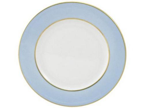 Limoges Legle Side/Cake Plate - Ice Blue