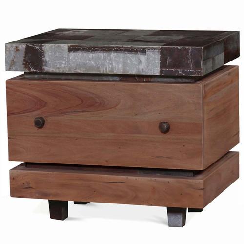 Remi End Table - Size: 65H x 71W x 51D (cm)