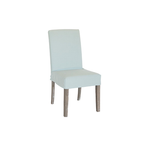 Dining Chair Cover Short - Sage Green