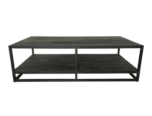 Industria Coffee Table with Shelf