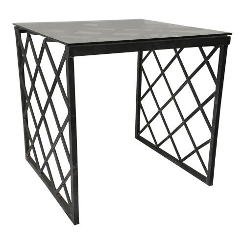 Trellis Side Table