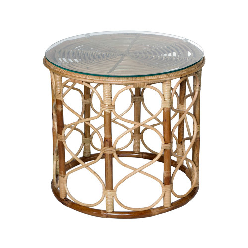 Cabana Rattan Side Table