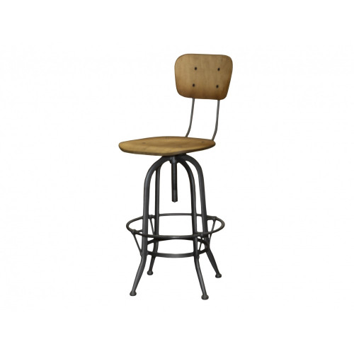 Nord Industrial bar Stool