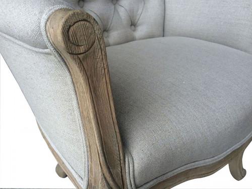 Monette Tufted Armchair - detail