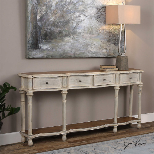 Gaultier Console Table - by Uttermost