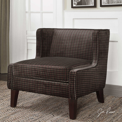 Mirna Armless Chair by Uttermost
