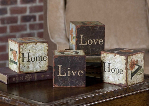 Love Letters Accessories S/4 by Uttermost