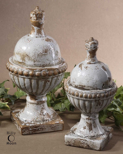 Sini Finials S/2 by Uttermost