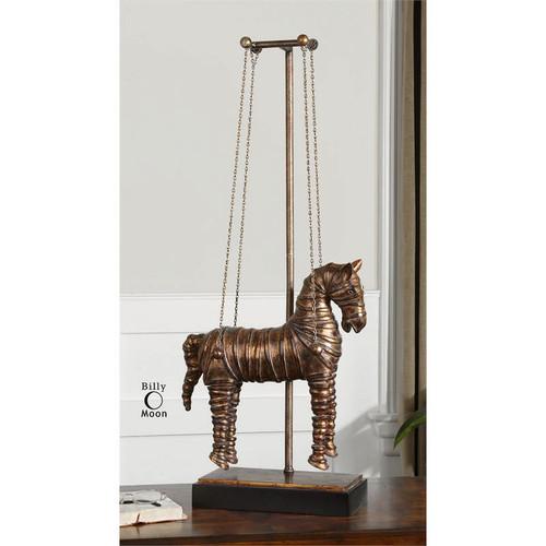 Stedman Horse Sculpture by Uttermost